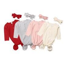 Повседневная детская одежда для сна, 2 шт., хлопковое Пеленальное Одеяло для новорожденных, спальный мешок, повязка на голову