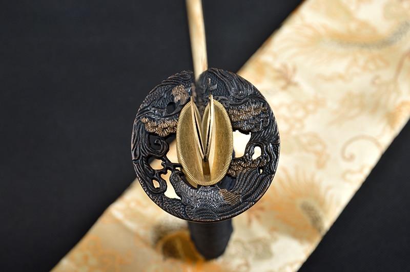Bradon Svärd Lång Handgjord Japansk Samurai Katana Skarp Full Tang - Heminredning - Foto 4