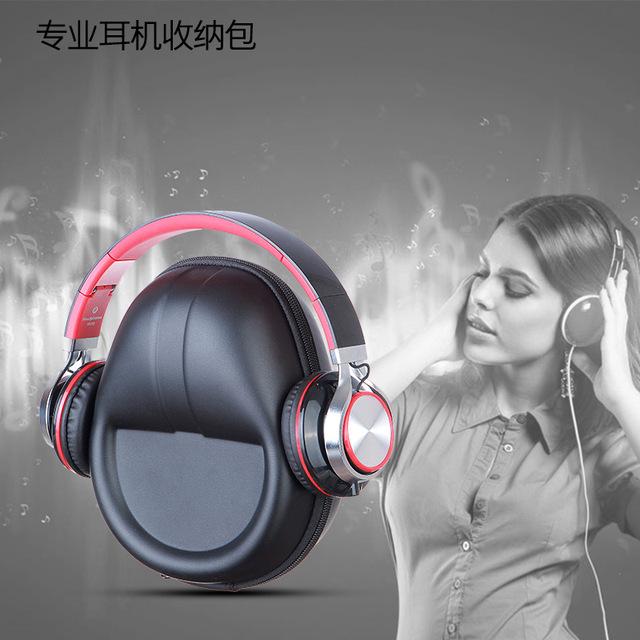 Guanhe difícil drop-resistente conjunto de saco de proteção caso saco para fone de ouvido fone de ouvido para sony etc. saco de fone de ouvido universal