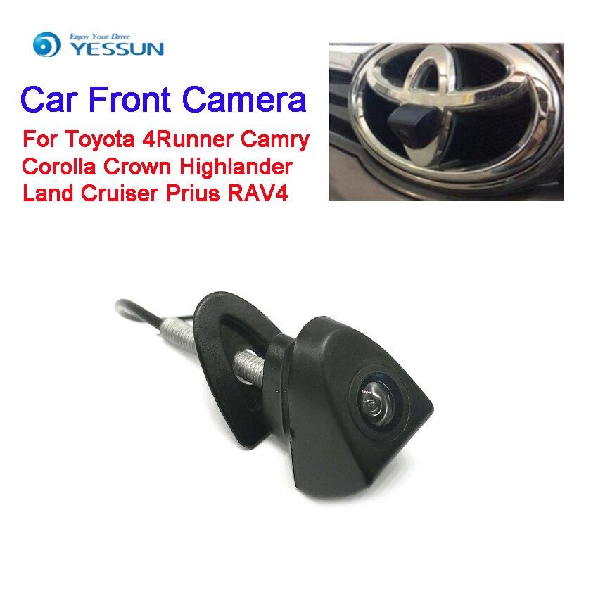 Caméra avant de voiture YESSUN pour Toyota 4runner Camry Corolla Crown Highlander Land Cruiser Prius RAV4 4 S boutique caméra de haute qualité