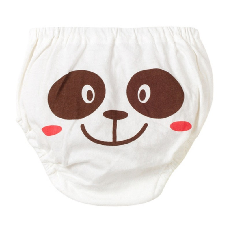 5 Pcs=1set Children Boy Girl Panties Cotton Cartoon Animal Pattern Soft Underwear Baby Panties 0-4Y