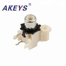 купить 10PCS AV-8.4-8 Factory direct PCB Mount AV Concentric Outlet 1 RCA Female Socket Board по цене 239.68 рублей