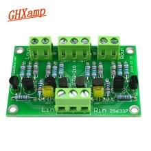 GHXAMP المضخم العازلة Preamp 2SK246/2SJ103 C2240/A970 ل مشغل أقراص مضغوطة مكبر للصوت استخدام