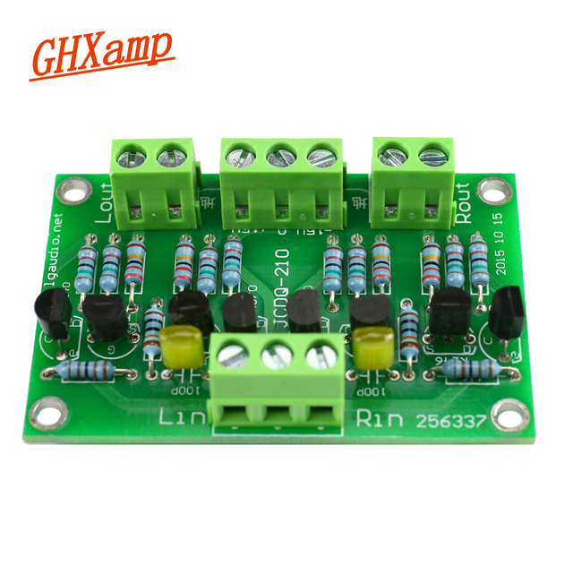 GHXAMP Preamplifier Buffer Preamp 2SK246/2SJ103 C2240/A970 For CD Player Amplifier Use