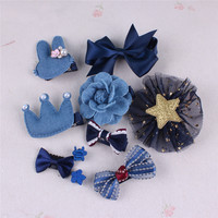 Children S Hair Accessories European And American New Princess Gift Box Hairpin Cute Baby Side Folder