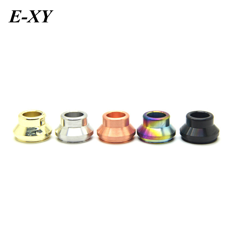 E-XY 2pcs Drip Tip Vape Wide Bore Drip Tips Top Cap Mouthpiece Kupcake 5 Colors fit for 24MM RDA Atomizer V