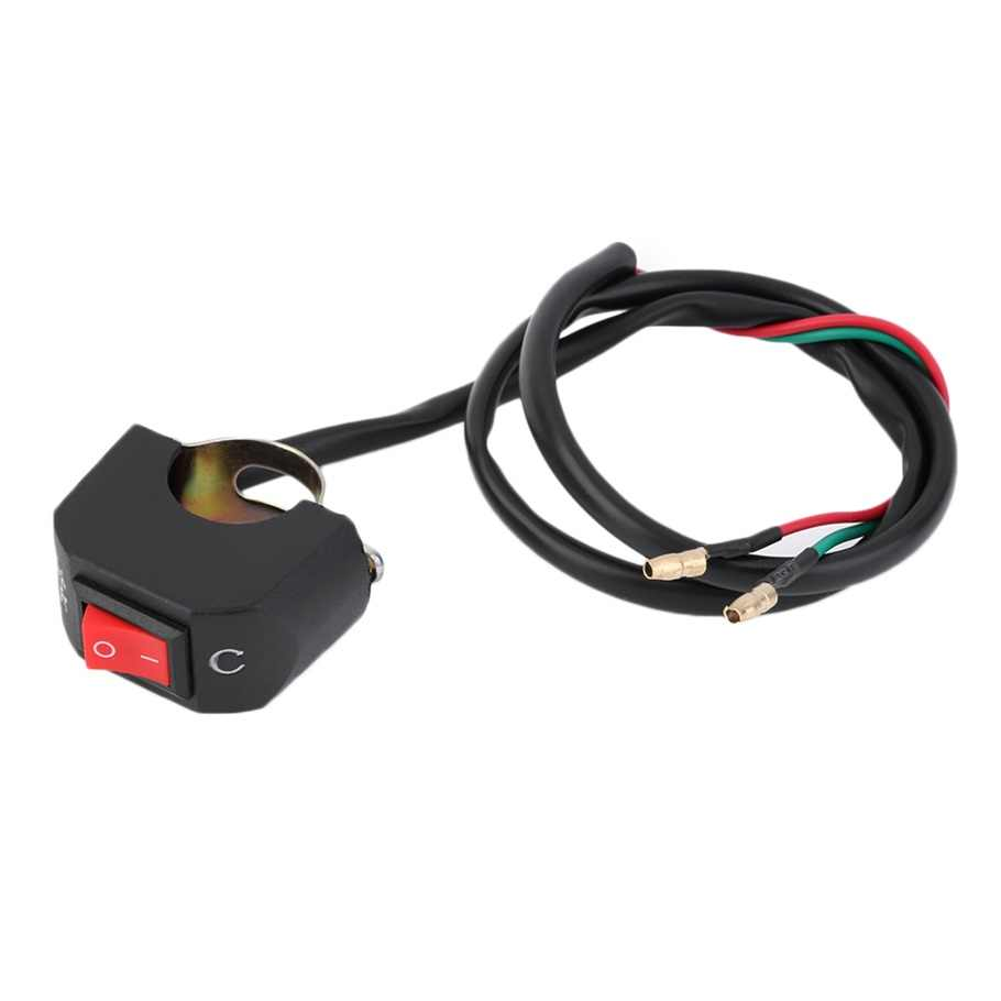 Universele Motorfiets ATV Bike Stuur Licht OP OFF Kill Switch Knop Connector hot selling