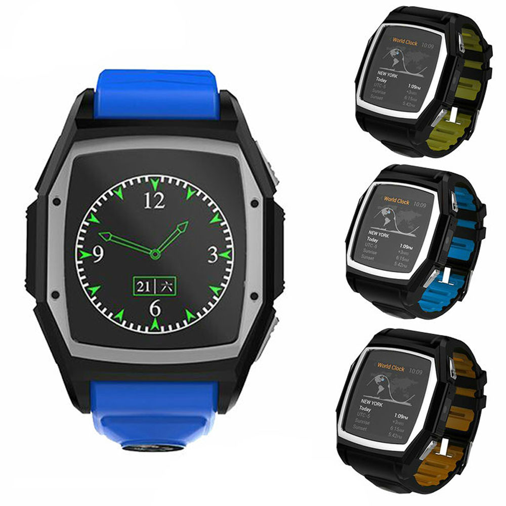 Bluetooth Smart Watch Wristwatch GT68 Sports Watches Men with Simcard GPS Compass Heart Rate Monitor font