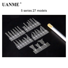 цена на UANME W120+ 27IN1 Knifes BGA Rework of Mobile Phone Remove Glue Spade Blade Disassemble the Main Board CHIP IC knife