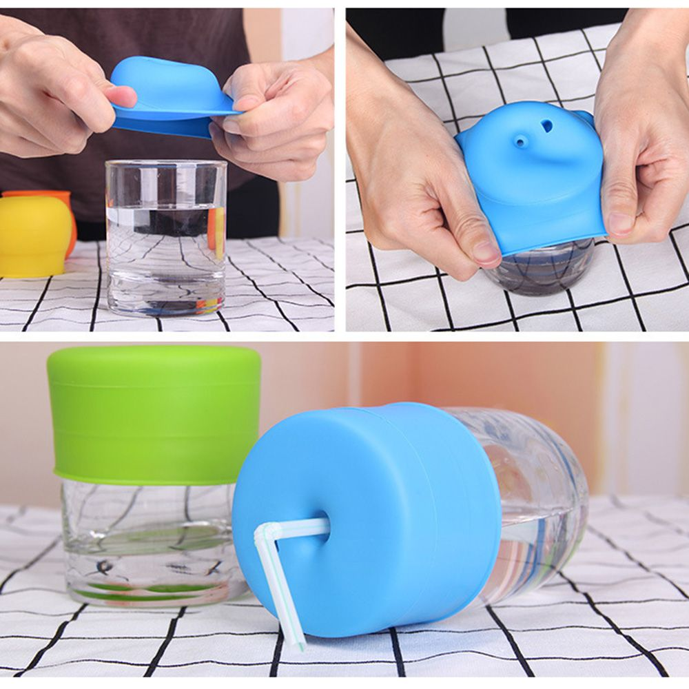 Kids Straw Lid Cap Universal Straw Cap for Cup Water Bottle Cover FM