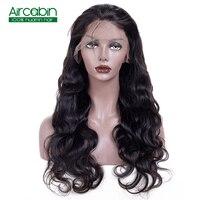 360 Синтетические волосы на кружеве al парик предварительно сорвал с ребенком волос бразильского Волосы remy объемная волна Синтетические воло