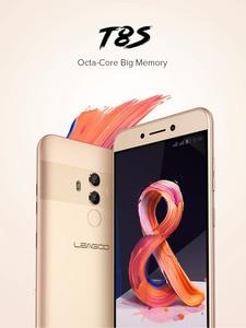 Image 2 - LEAGOO T8s Mobile Phone 5.5 FHD 16:9 1920*1080 RAM 4GB ROM 32GB Android 8.1 MT6750T Octa Core Face ID 13MP 4G Smartphone OTG