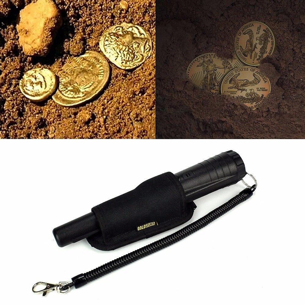 Ouro Pin Caçador Detectores de Ouro Prata Ponteiro Propointer Tesouro Digger Localizador Apanhador Profissional Detector De Metais Subterrâneo