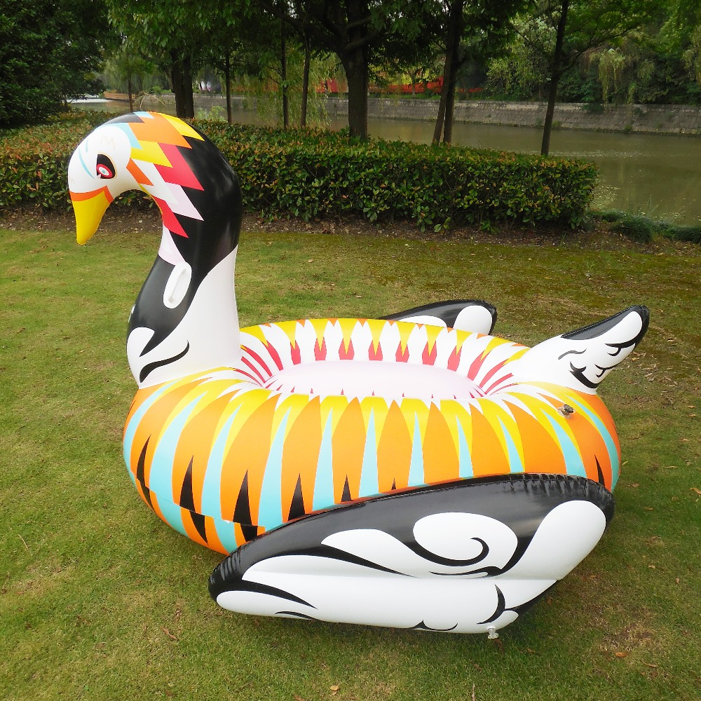 Giant Pool Floats Inflatable Color Swan Swimming Floating