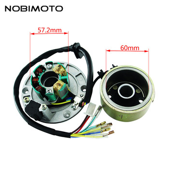 Off-Road Motorcycle Accessories High Speed Motor Kits Stator Rotor Magneto Coil For ZongShen 155CC Oil-cooled Engine CQ-101
