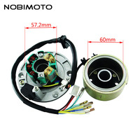 Off Road Motorcycle Accessories High Speed Motor Kits Stator Rotor Magneto Coil For ZongShen 155CC Oil cooled Engine CQ 101