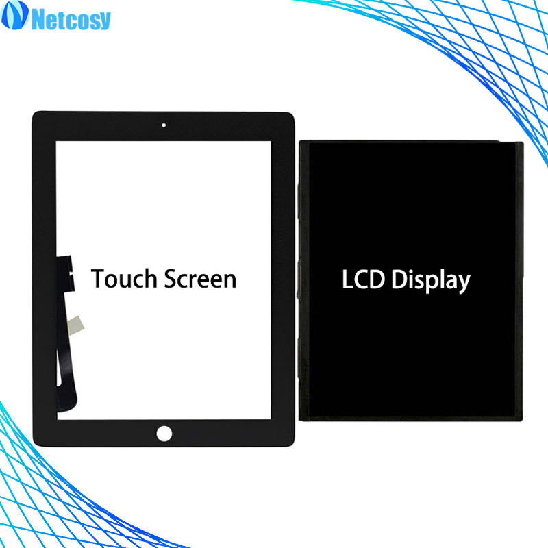Tablet Bildschirm Reparatur Für Ipad 3 4 Lcd Display Touch Screen-digitizer Panel Für Ipad A1403 A1416 A1430 A1458 A1459 A1460 Bildschirm