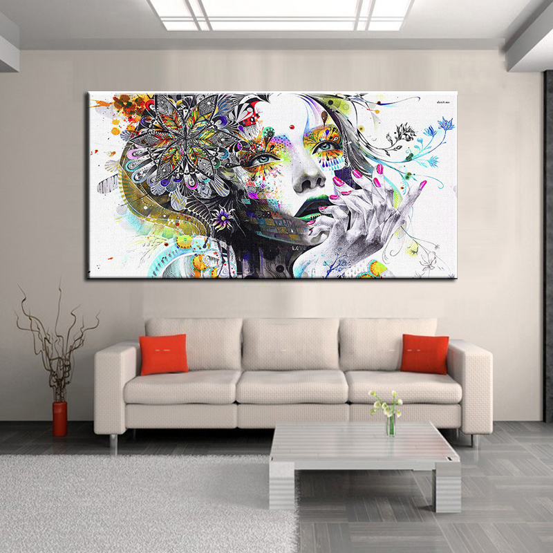 Unframed σύγχρονη αφηρημένη τέχνη - Διακόσμηση σπιτιού - Φωτογραφία 1