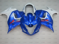 GSX650F 2012 Fairing GSX650F 2008 2013 Katana White Blue Fairings for Suzuki GSX650F 08 09 Abs Fairing