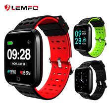 LEMFO Q8 Sport Smart Watch Activity Fitness Tracker Bracelet Heart Rate Men Women Smartwatch IP67 Waterproof Blood Pressure(China)