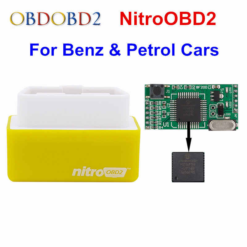 New Arrival NitroOBD2 Chip Tuning Box For Benzine Cars Nitro