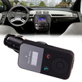 New 320E Bluetooth Hands-free Car Kit Stereo FM Transmitter for Music & Talking Support USB SD card E#A