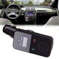 Nova 320E Bluetooth Hands-free Car Kit Transmissor de FM Estéreo para Música & Falando Apoio cartão SD USB E # uma