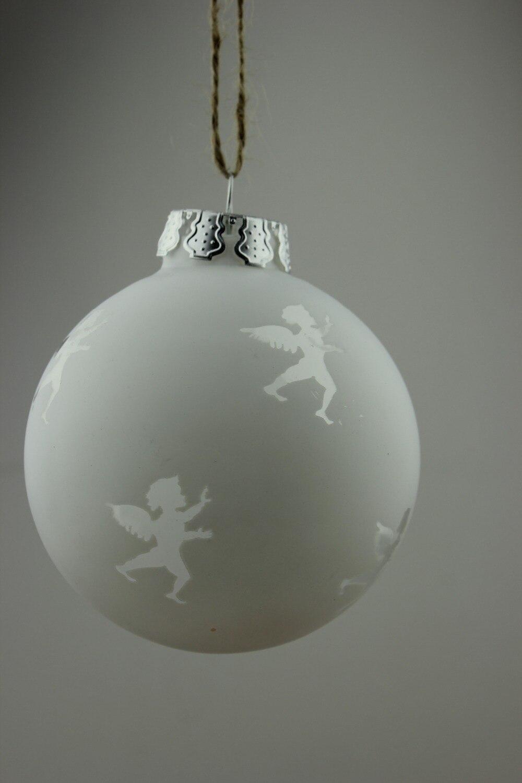 Clear glass ball ornaments - Glass Ball Christmas Ornaments