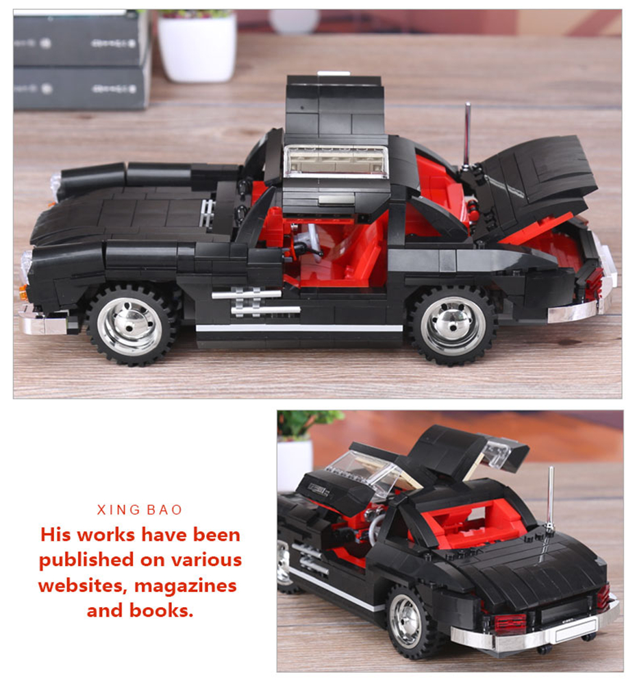 XINGBAO XB-03010 Mercedes Benz 300 SL PHOTIPONG Building Block 23