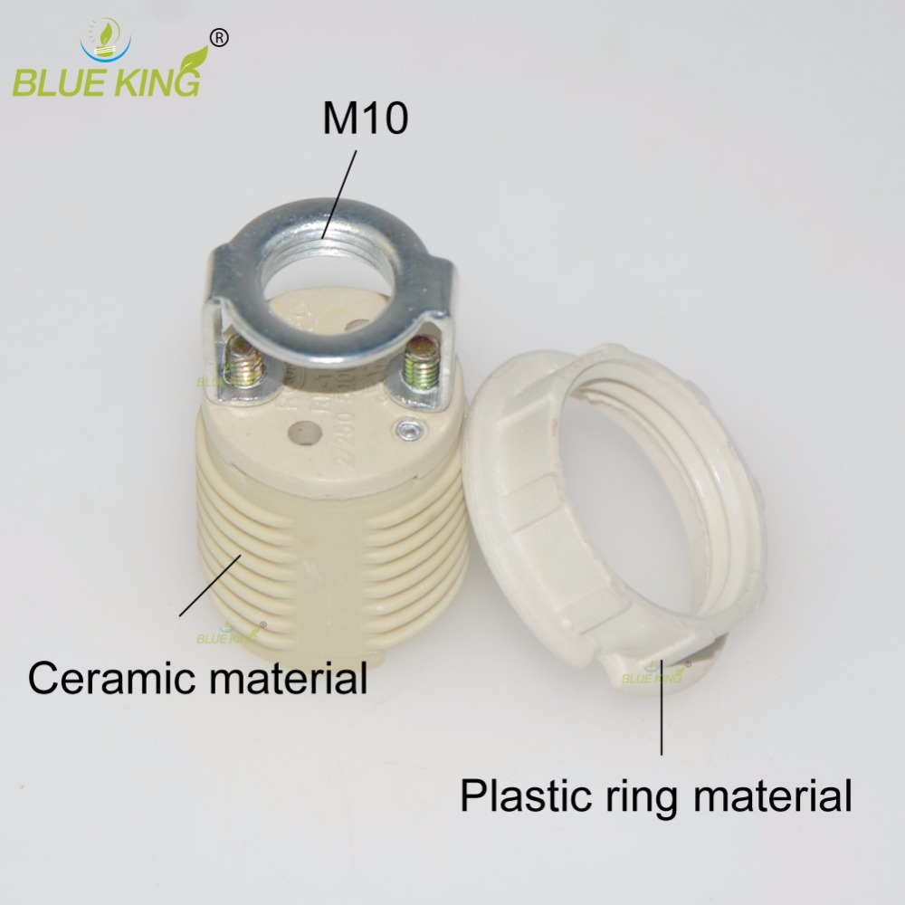 5pcs G9 Ceramic Lamp Bases White Color Socket Wiring A Holder With M10 Bracket In From Lights Lighting On Alibaba
