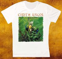 CIRITH UNGOL FROST AND FIRE 80 HEAVY METAL BAND PAGAN ALTAR UNISEX T SHIRT Hip Hop