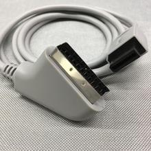 FZQWG ab tak Nintendo Wii oyun konsolu PVC RGB Scart Video 720 p/1080i HD HDTV AV kablosu /kordon