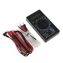 DT838 Digital Multimeter Tester Voltmeter Measuring Current Resistance Temperature Meter ACDC Ammeter Test Lead Probe multi Test