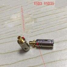 Plug Vsonic Earphone Shell-Housing Solder-Pins 40PCS with Metal DIY Custom for Vsd3/vsd3s