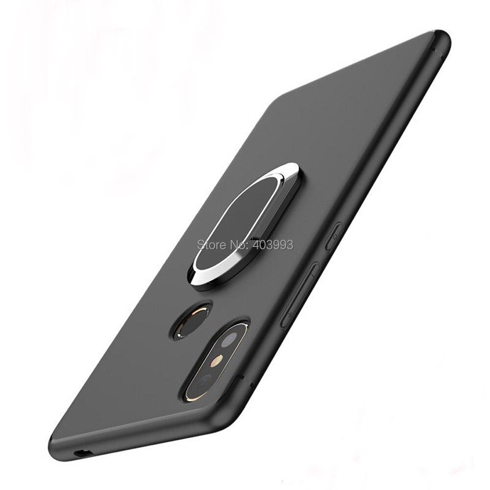 Étui Asus Zenfone Max Pro M1 ZB602KL étui anneau de doigt aimant mat couverture souple Asus Zenfone Max Pro M2 ZB631KL Max M2 ZB633KL