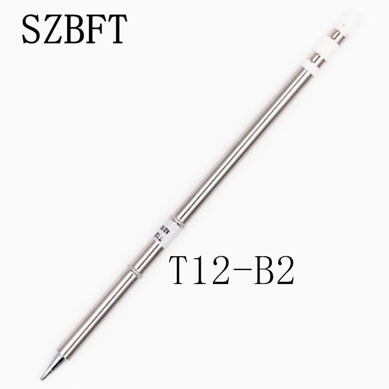 SZBFT Soldeerbout Tips T12-B2 I IL ILS J02 JL02 JS02 serie voor Hakko Soldeer Rework Station FX-951 FX-952 gratis verzending