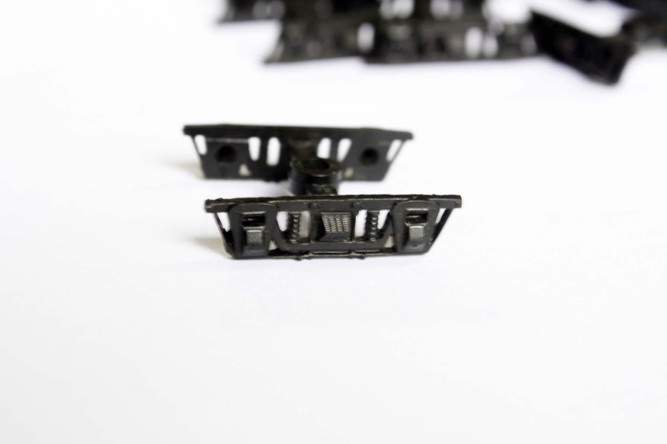 87 scale HO ratio train model toy bogie train miniature accessories building materials