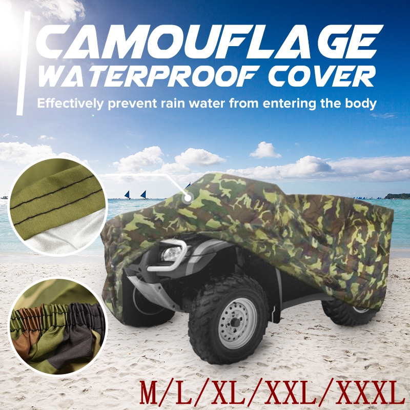 Mofaner Universal 190T Camouflage Waterproof Motorcycle Cover Quad ATV Vehicle Scooter Motorbike Covers M L XL XXL XXXL мужские изделия из кожи и замши 2322 2015 m l xl xxl 3xl 4xl 5xl m l xl xxl xxxl 4xl 5xl