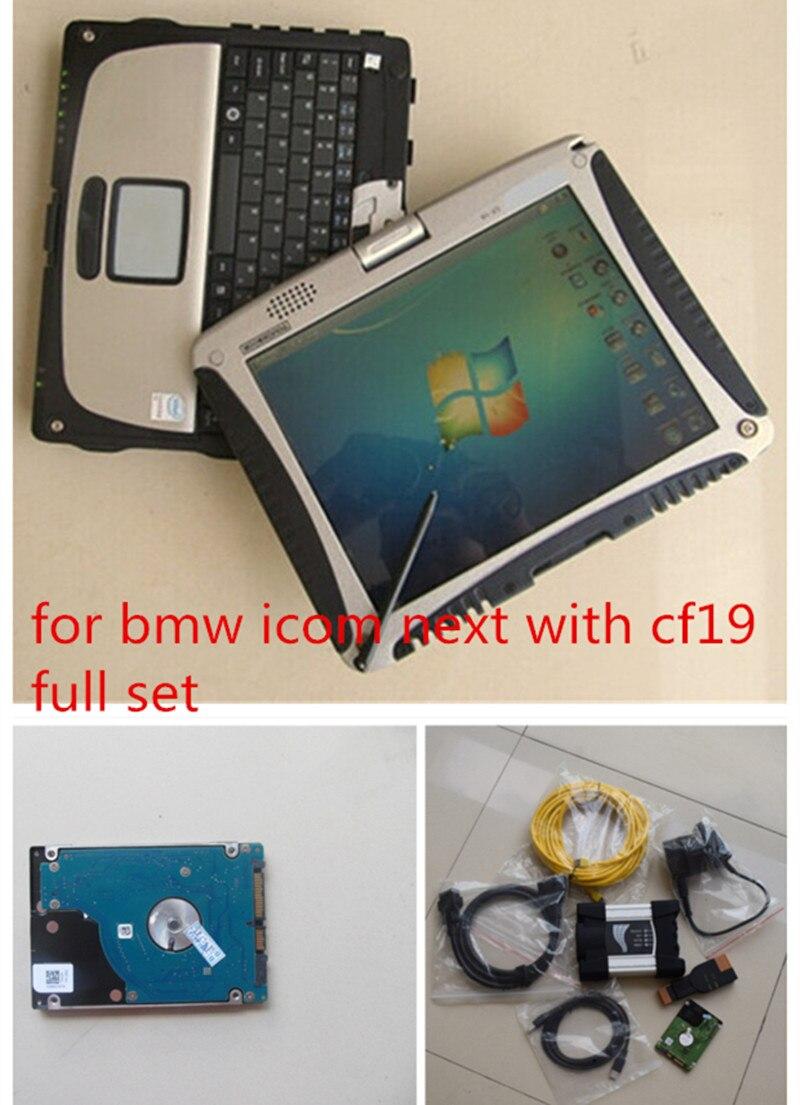 For BMW ICOM Next with laptop V2017 12 icom a3 Auto font b Diagnostic b font