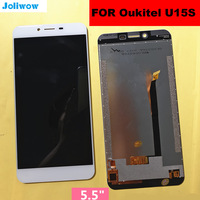 5.5 For Oukitel U15S LCD Display Touch Screen Screen Digitizer Assembly Repair for phone Oukite U15 S TOUCH