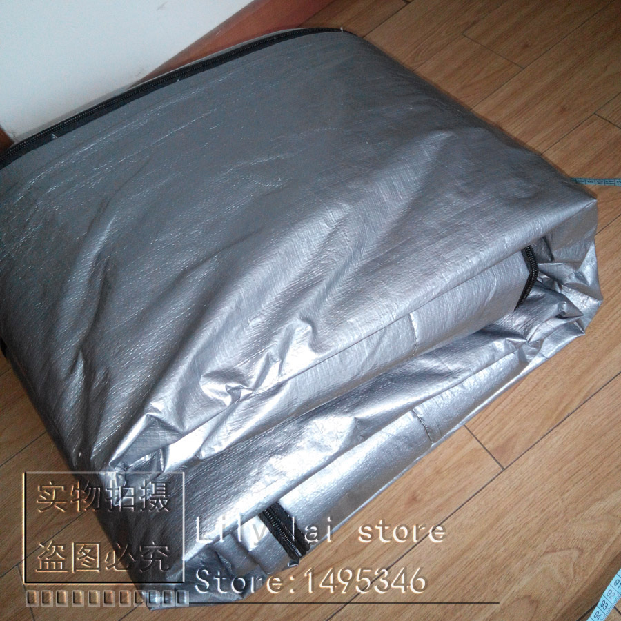 Customize hot tub cover bag and spa cap , size 2300x2450x300 mm (7.5 ...