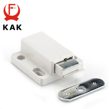 KAK Cabinet Catch Kitchen Door Stopper Drawer Soft Quiet Close Magnetic Push to Open Touch Damper Buffers For Furniture Hardware 10 pcs cabinet latch door drawer push to open system damper buffer catch dropshipping 323