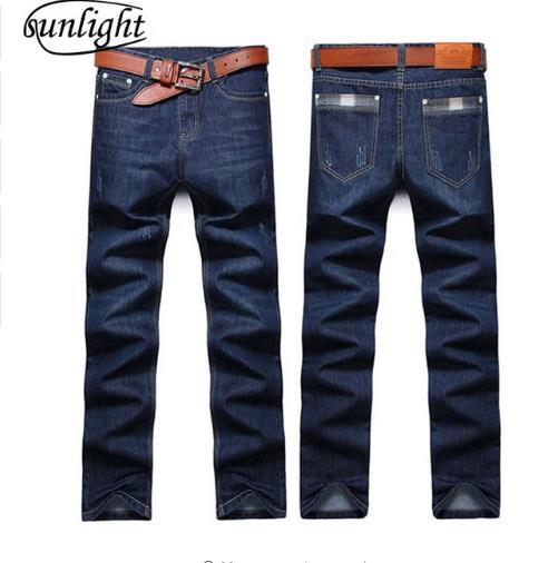Luce del sole 2018 degli uomini dei jeans taglia 28-38