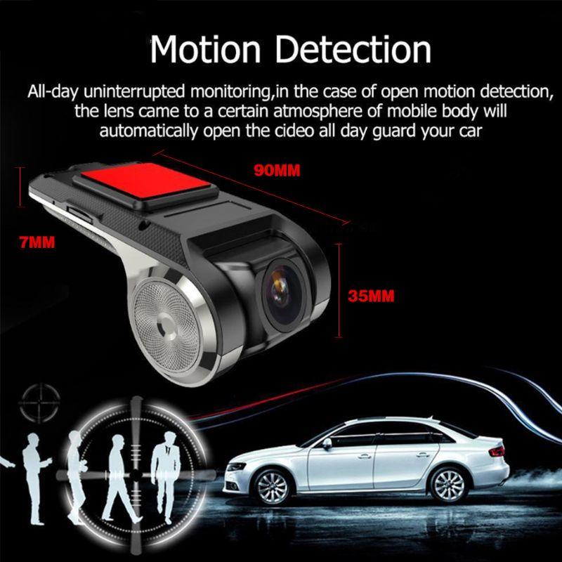 Image 5 - Full HD 720P Car DVR Camera Auto Navigation Recorder Dash Camera G Sensor ADAS Video-in DVR/Dash Camera from Automobiles & Motorcycles