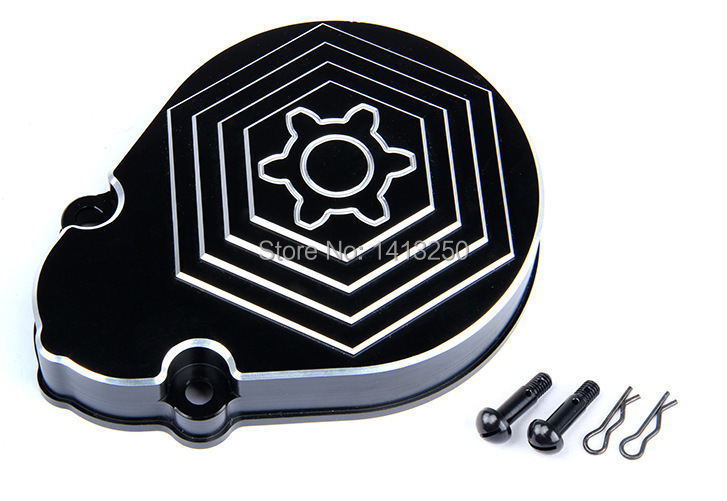 все цены на CNC metal black and white gear cover(with turbine) ,Baja  parts,Free shipping онлайн