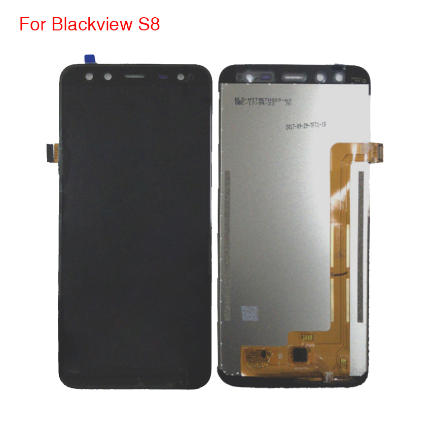 For Blackview S8 LCD Display Touch Screen Mobile Phone Parts For Blackview S8 Screen LCD Free ToolsFor Blackview S8 LCD Display Touch Screen Mobile Phone Parts For Blackview S8 Screen LCD Free Tools