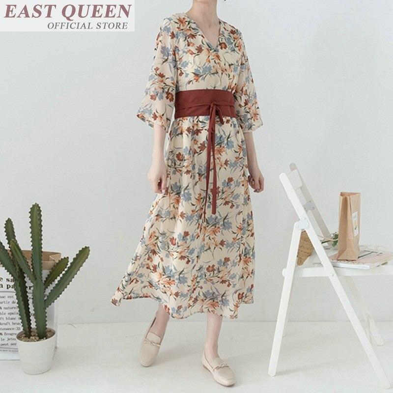 Arrivée Ff576 Élégances Femmes 2018 D'été Long Nouvelle Un Moulante De Imprimé Robe Floral 1 Robes Chambre YTqgwOxq