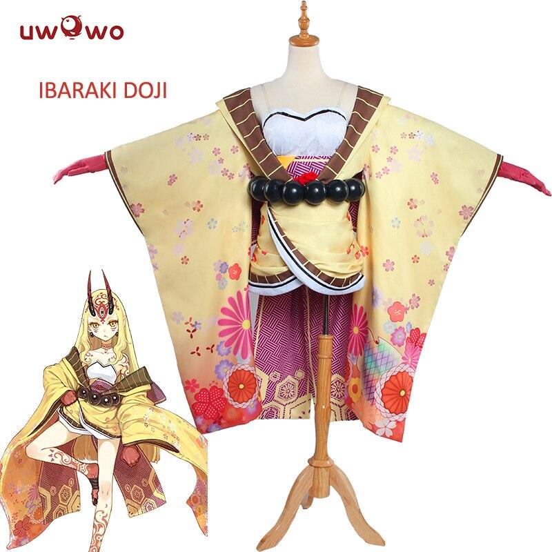 UWOWO Ibaraki Doji Cosplay Fate Grand Order Costume FGO Berserker Women Costume Anime Fate Grand Order