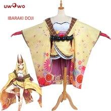UWOWO Ibaraki Doji Косплей судьба большой заказ костюм FGO Berserker женский костюм Аниме Судьба большой заказ косплей Ibaraki Doji