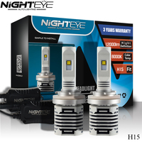 Nighteye H4 H7 H11 H13 9005 9006 Chips C MZ 80W LED Car Headlights Bulb Hi